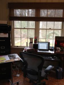 Amanda Kyle Williams workspace