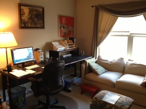 Anne Laughlin workspace