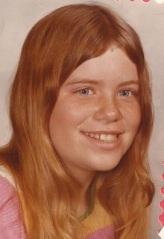 Yvonne in 6th grade