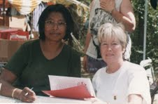 Signing with Alice Walker