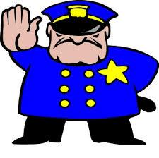 stop policeman