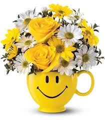 sunshine and flowers