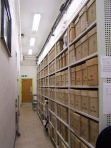 Storage at the Derbyshire Record Office