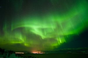 Northern Lights (aurora borealis)  (source: The Municipality of Tromso)