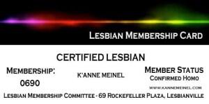 Lesbian_Membership_Card_K'Anne_Meinel