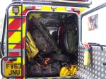 One of Edale Mountain Rescue's well-stocked vehicles