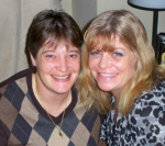 Yvonne, right, and her wife, Sandy