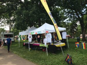 TC Pride 2015 double booth