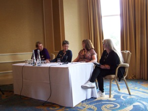 Sunday's Humour in Fiction Panel