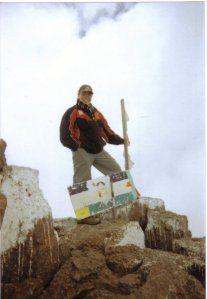 Me up Mt Kenya 2
