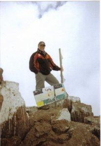 Me up Mt Kenya 2