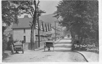 Bottom of Main Road 1921