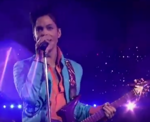Prince screenshot, 2007 Superbowl halftime show