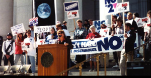 No on 2 rally sponsored by National Organization for Women, CO 1992 WikiWand