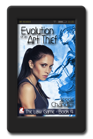 Amazon Evolution-of-An-Art-Thief-by-Jessie-Chandler