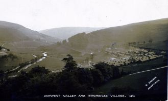 Derwent Valley and Birchinlee village