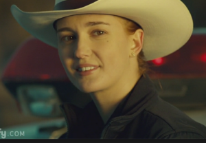 Officer Nicole Haught (portrayed by actress Katherine Barrell)