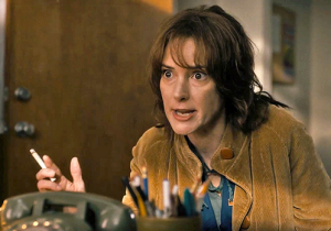 Winona Ryder as Joyce Byers in Stranger Things. source