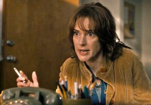 Winona Ryder as Joyce Byers in Stranger Things. source