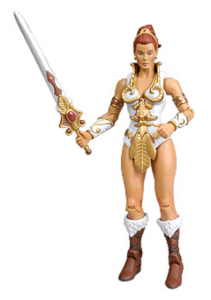 Teela from Masters of the Universe (as far as we're concerned, she IS the master of the universe...source)
