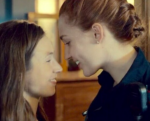Shameless gratuitous photo of WayHaught (Waverly Earp on the left, Nicole Haught on the right).