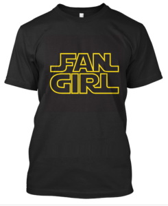 This shirt gets Andi tons of comments and shared fangirling every time she wears it.