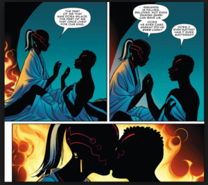 Ayo and Aneka, from Black Panther: World of Wakanda #1 (Nov. 2016)
