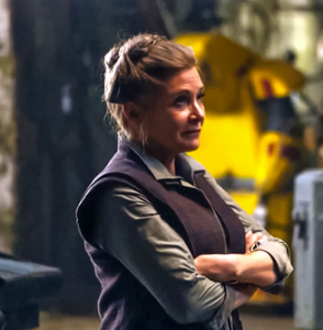 General Leia Organa, from 2015's Star Wars: The Force Awakens