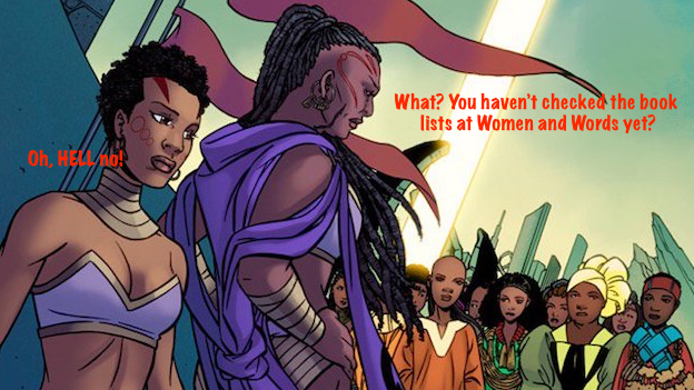 From the first page of World of Wakanda, via Paste Magazine (source)