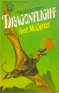 Dragonflight, the first in the Dragonriders of Pern series