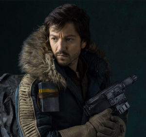 Cassian Andor, portrayed by Diego Luna