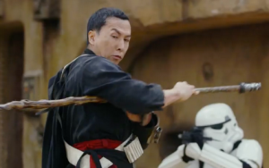 Chirrut Îmwe, portrayed by Donnie Yen