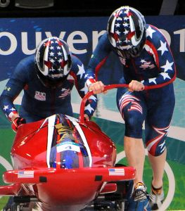 bobsled racers