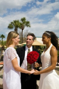 Interracial-Lesbian-Wedding-Couple-200x300