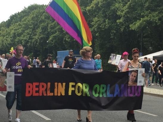 Berlin for Orlando 2016